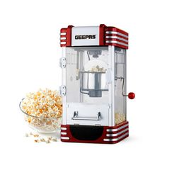 GEEPAS POPCORN MAKER/S/S BOWL-GPM839