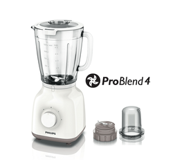 Philips Blender 1.5L Glass Jar +Chpr 400W -HR2106/01