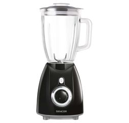 Sencor Blender 1.7L 500W Blue Glass Jug - SBL5371BK