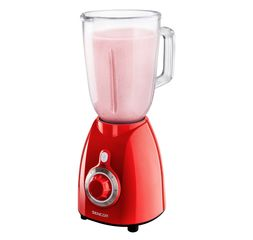 Sencor Blender 1.7L 500W Red Glass Jug - SBL5372R