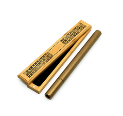 Bamboo Incense Burner Set