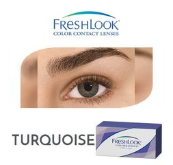 Freshlook Contact Lenses M Turquoise