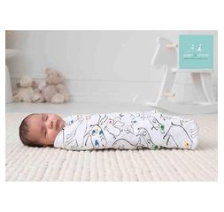 Aden+Anais - Color pop 4-pack classic swaddles