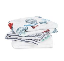 Aden+Anais - dream ride 4-pack classic swaddles