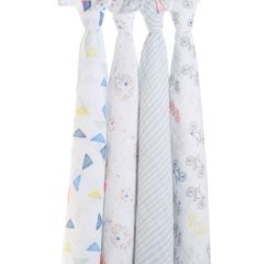 Aden+Anais -leader of the pack 4-pack classic swaddles