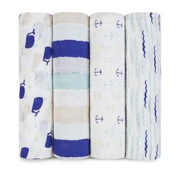 Aden+Anais - high seas 4-pack classic swaddles