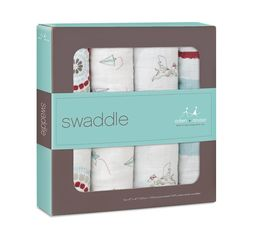 Aden+Anais - Liam The Brave 4-Pack Classic Swaddles