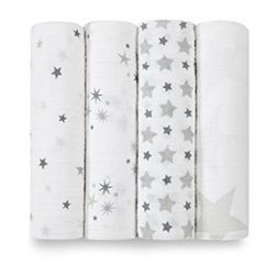 Aden+Anais - Twinkle 4-Pack Classic Swaddles