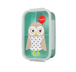 3 Sprouts Lunch Bento Box - Owl