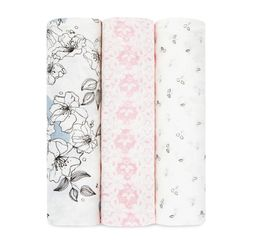 Aden+Anais - Meadowlark 3-Pack Silky Soft Swaddles