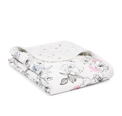 Aden and Anais Stroller Blanket -  Meadowlark