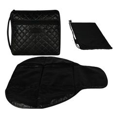 Momymoo - Grab N Go Changing Station - Quilted Black