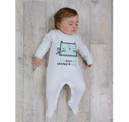 The Essential One - ESS214 - 3 Pack Fairy Cat Wish Sleepsuits