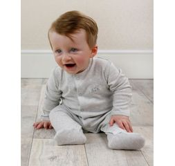 The Essential One - ESS203- Unisex 3 Pack Neutral Sleepsuits