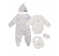 The Essential One - TESS3 - Unisex 5 Piece Baby Starter Pack