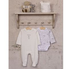 The Essential One - TESS4 - Unisex 3 Piece Baby Starter Pack