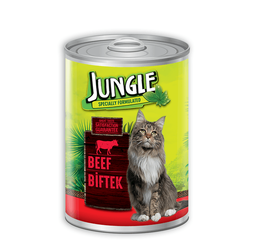 Jungle Cat Can Food 415G Beef