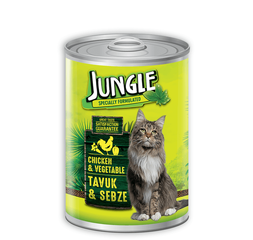 Jungle Cat Can Food 415G Chick/Vege