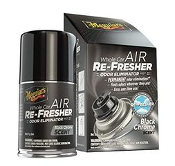 MEGUIAR'S  Black Chrome Whole Car Air Re-Fresher Odor Eliminator Mist,