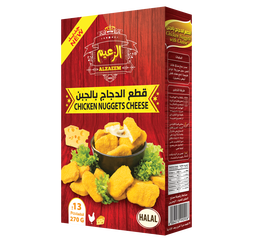 Al Zaeem Chicken Nuggets Cheese 270gms