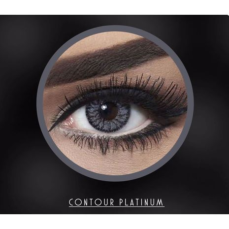 Bella Contact Lenses Contour Platinum