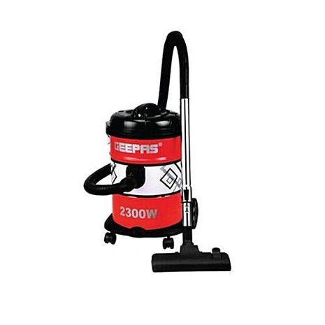 GEEPAS VACUUM CLEANER 2300W 21LTR RED AND BLACK - GVC2592