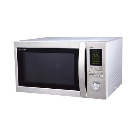 SHARP MICROWAVE WITH GRILL 43 LTR SILVER-R-78BT(ST)