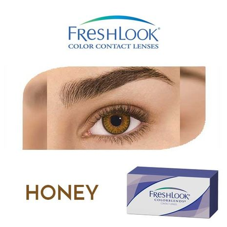 Freshlook Contact Lenses M Honey