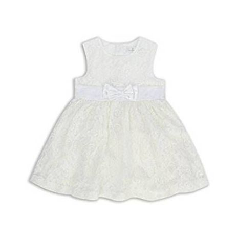 The Essential One - Eot375 Girls - Lace Dress - White