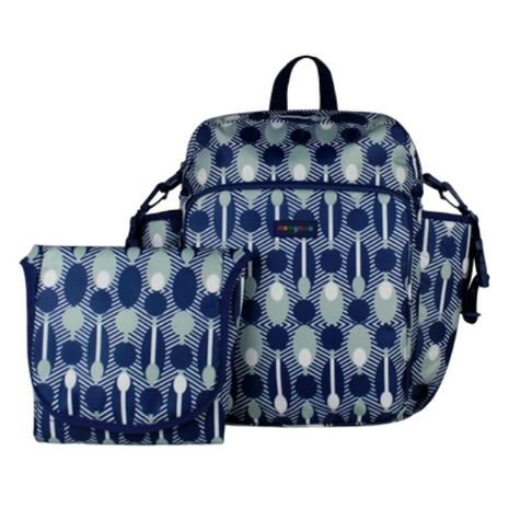 Momymoo - Solo Baby Changing Bag - Abacus