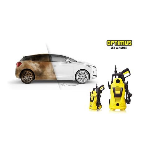 Clikon car washer 1400w - ck4040